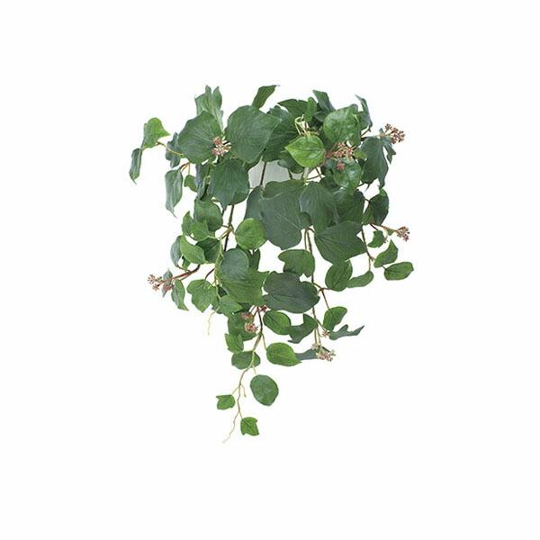 アートフラワー 人工観葉植物 光触媒 光の楽園 壁掛フレンチアイビ- (代引き不可) P12Sep14