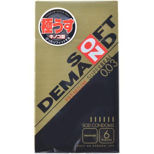 ソフトオンデマンド プレミアムスーパーリアル 6個入り(コンドーム) ジェクス P12Sep14