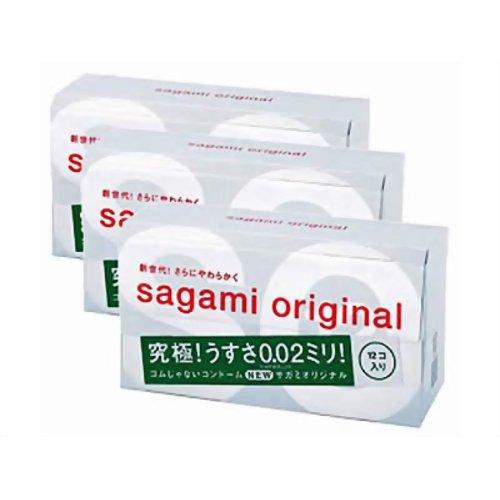 サガミオリジナル002 徳用 12個入り*3箱(コンドーム) P12Sep14