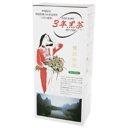 黒麹発酵 3年黒茶(ティーバッグタイプ) 3g*25包 P12Sep14