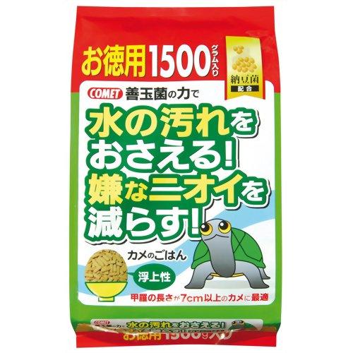 コメット カメのごはん納豆菌 お徳用 1500g P12Sep14