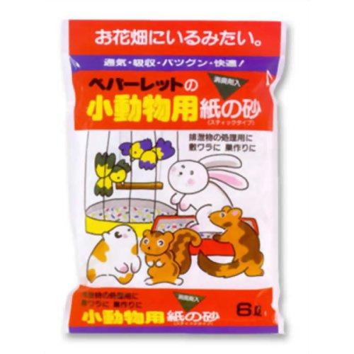 小動物用紙の砂 6L ペパーレット P12Sep14
