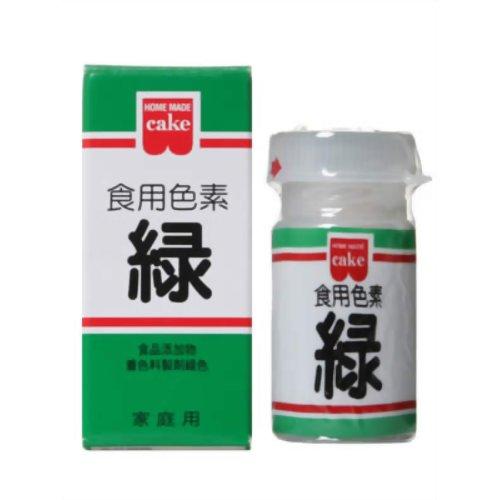 食用色素 緑 5.5g 共立食品 P12Sep14