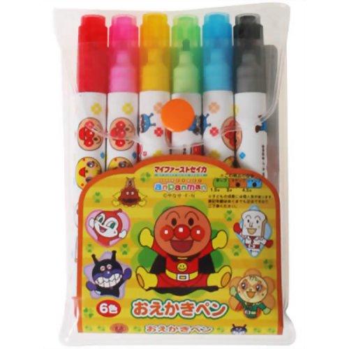 セイカ おえかきペン アンパンマン 6色 P12Sep14
