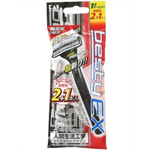 べスティーEX 固定 2+1本入 貝印 P12Sep14