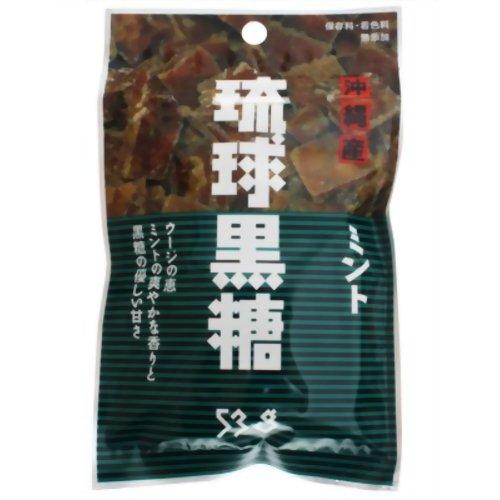 琉球黒糖 ミント 53g P12Sep14