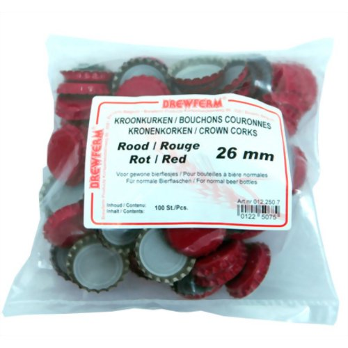 ブロウランド 王冠 赤 100個 テン・クエスト P12Sep14