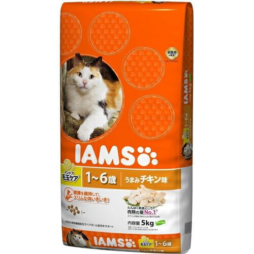 アイムス 毛玉ケア成猫用 チキン味 5kg P&G(プロクター・アンド・ギャンブル) P12Sep14