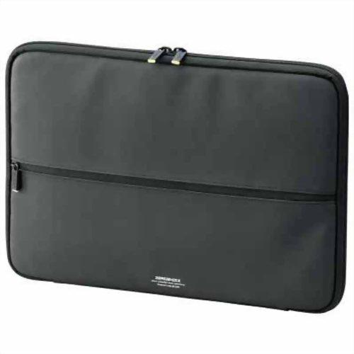 エレコム Ultrabook用(13.3インチワイドまで対応) ZEROSHOCKケース ブラック ZSB-IBUB02BK P12Sep14