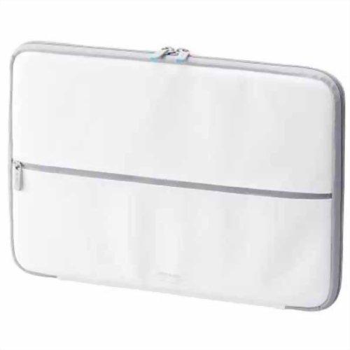 エレコム Ultrabook用(13.3インチワイドまで対応) ZEROSHOCKケース ホワイト ZSB-IBUB02WH P12Sep14