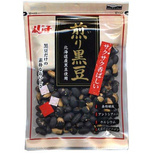 ふじっ子 煎り黒豆(北海道産黒豆使用) 60g フジッコ P12Sep14