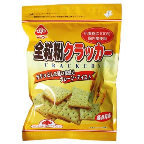 サンコー 全粒粉クラッカー 100g 健康志向菓子サンコー P12Sep14