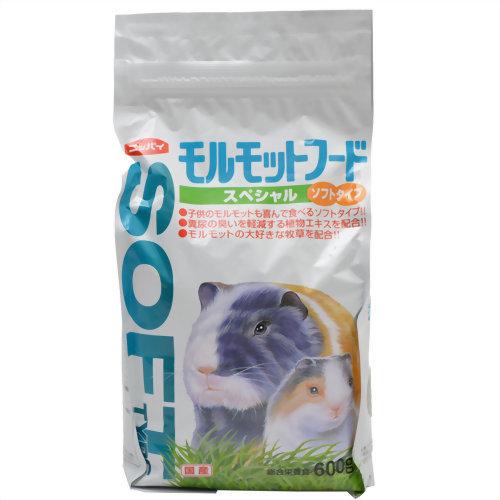 ニッパイ モルモットフード スペシャル ソフトタイプ 600g 日本配合飼料 P12Sep14