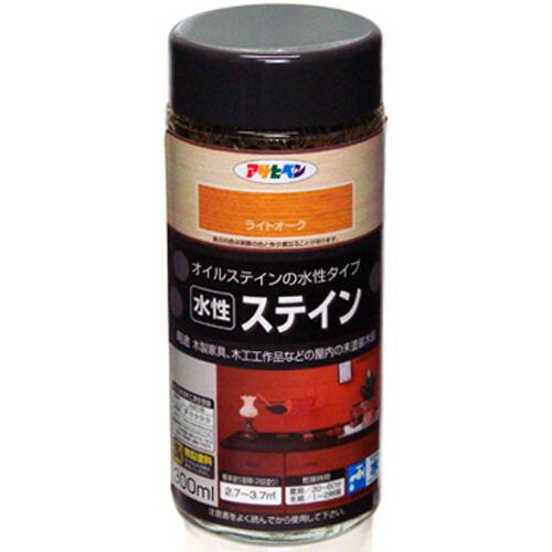 アサヒペン 水性ステイン ライトオーク 300ml P12Sep14