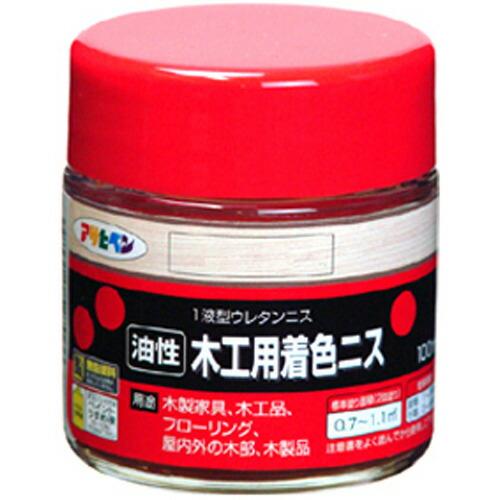 アサヒペン 油性木工用着色ニス メープル 100ml P12Sep14