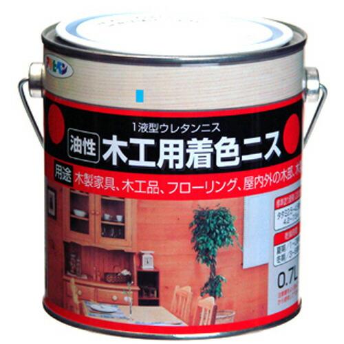 アサヒペン 油性木工用着色ニス マホガニー 0.7L P12Sep14