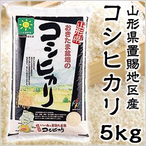 米 日本米 特Aランク 産地直送 25年度産 山形県 おきたま盆地産 コシヒカリ 置賜 5kg JA直送 (代引き不可) P12Sep14