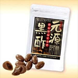 元源黒酢 42g 米黒酢 天然素材 健康 サプリメント (代引き不可)