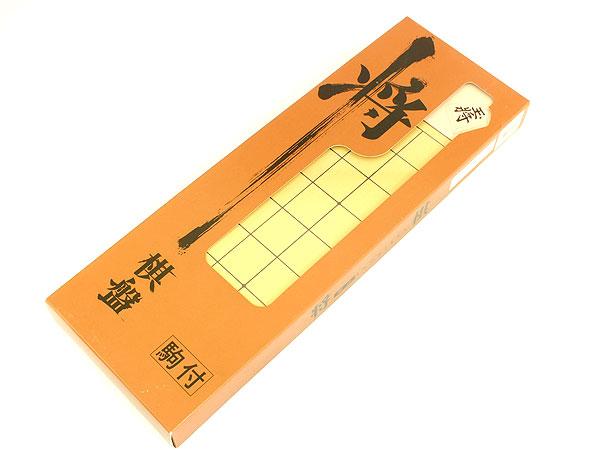 将棋盤 将棋駒付き 折将棋盤セット SYOUGI-SETH2 P12Sep14