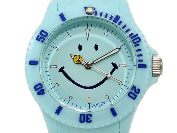 スマイリー SMILEY 腕時計 レディース/キッズ WGHB-PP-BV01 ブルーH2 P12Sep14