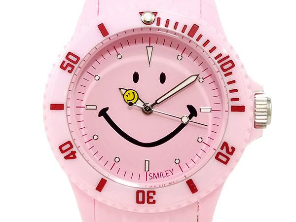 スマイリー SMILEY 腕時計 レディース/キッズ WGHB-PP-PKV01 ピンクH2 P12Sep14