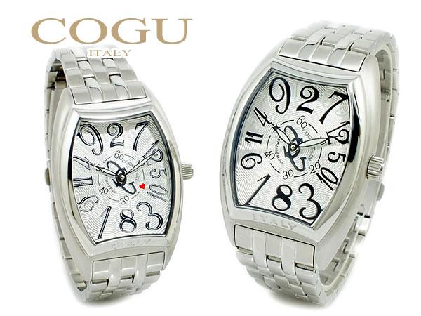 コグ COGU ジャンピングアワー 自動巻き 腕時計 ペアセット JH4M-WBK-SETH2