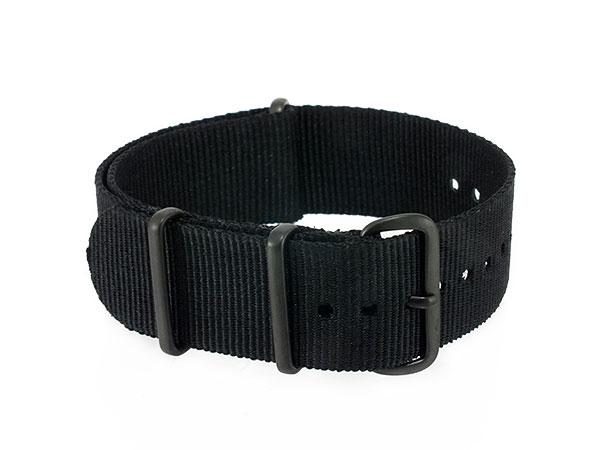 腕時計 時計 WATCH ナイロン 替えベルト 001-BK-PV22 (58998) ブラックH2 P12Sep14
