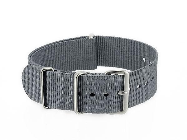 腕時計 時計 WATCH ナイロン 替えベルト 005-GY-SS20 (59001) グレーH2 P12Sep14