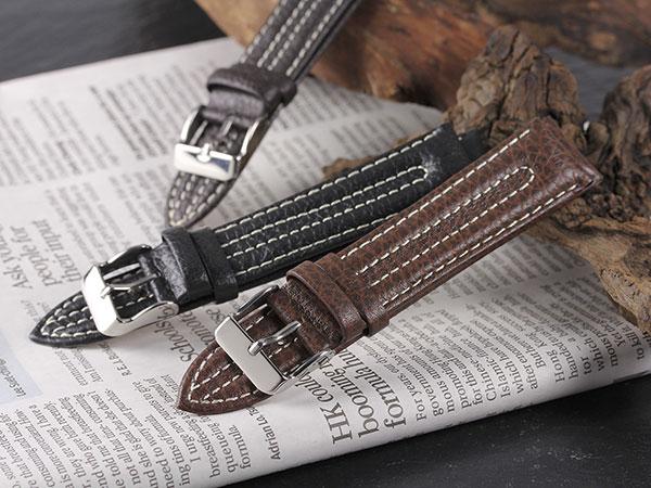 本革 カーフ メンズ 腕時計 時計 替えベルト PLC2S35-20-DBR ダークブラウンH2 P12Sep14