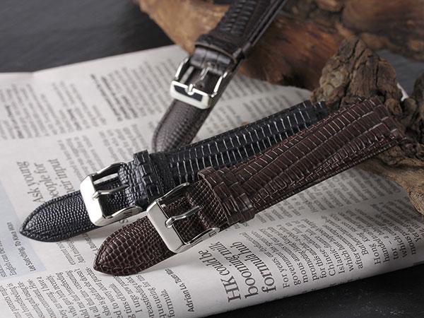 本革 カーフ型押しクロコ メンズ 腕時計 時計 替えベルト PLCRE35-20-BR ブラウンH2 P12Sep14