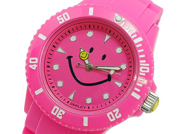 スマイリー SMILEY 腕時計 時計 レディース/キッズ WC-HBSIL-PK P12Sep14