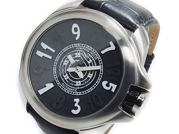 コグ COGU ジャンピングアワー 自動巻き 腕時計 時計 JHR-BK P12Sep14