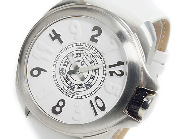 コグ COGU ジャンピングアワー 自動巻き 腕時計 時計 JHR-WH P12Sep14