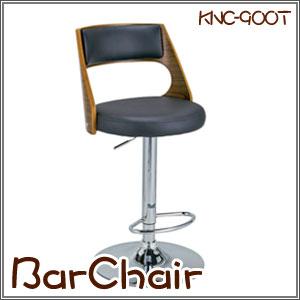 バーチェア 座面高さ調整 360度回転 椅子 イス 曲木のデザインがカウンターをお洒落に演出(KNC-900T) P12Sep14