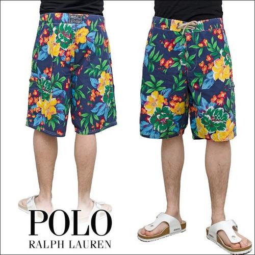 POLO RALPH LAUREN  PALM 7 FLORAL スウィム パンツ ( 水着 )