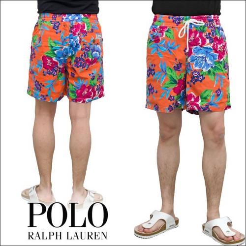 POLO RALPH LAUREN  TRAVELER 6 FLORAL スウィム パンツ ( 水着 ) P12Sep14