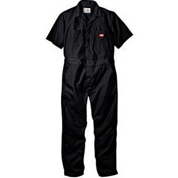DICKIES(ディッキーズ) (33999) 半袖つなぎ オーバーオール /SHORT SLEEVE COVERALL (6色) 即納&先行  Black (XL) P12Sep14