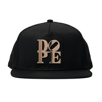 DOPE COUTURE  DOPE LOVE METAL PLATE スナップバック キャップ ブラック P12Sep14