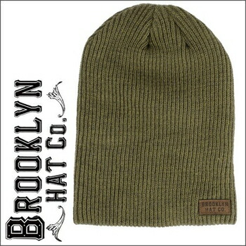 BROOKLYN HAT  COMPANY ニットワッチ ( 全2色 ) by Christys オリーブ P12Sep14