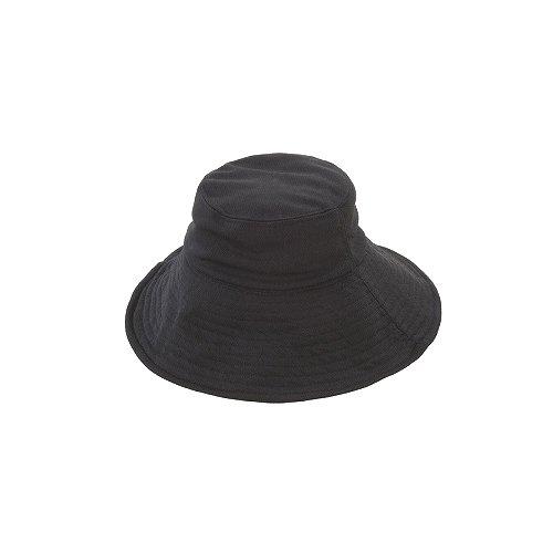 NEW折りたためる UV日よけ帽子 ブラック