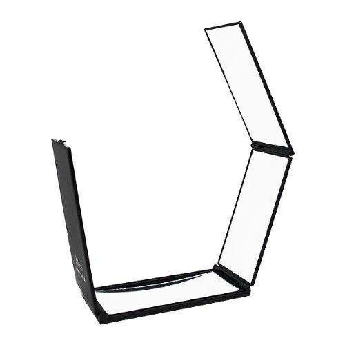 ルアン ハンディミラー(携帯四面鏡)高さ165×横78×奥行20.5、248g