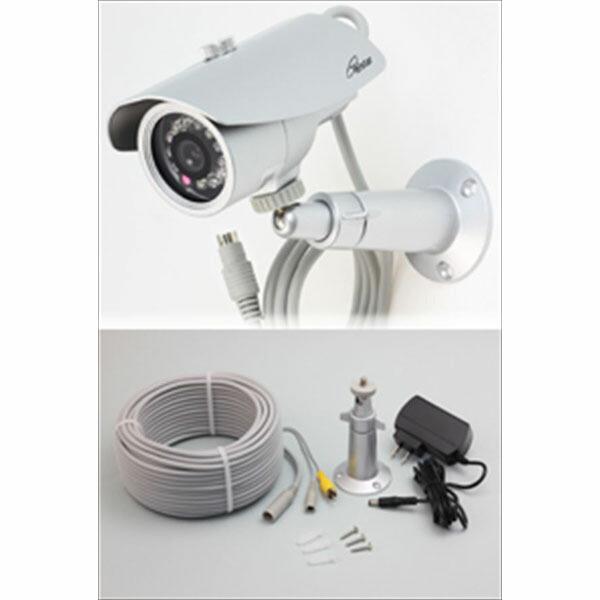 コロナ電業 赤外線投光器内蔵 屋外用カラーCCDカメラ TR-855WCP (代引き不可) P12Sep14