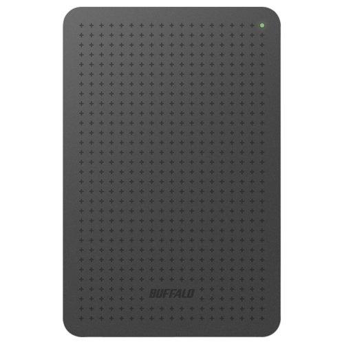 バッファロー/BUFFALO ミニステーション ターボPC EX2対応 USB3.0ポータブルHDD 1TB ブラック HD-PLF1.0U3-BB P12Sep14