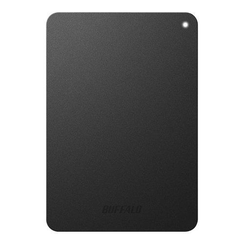 バッファロー/BUFFALO ミニステーション ターボPC EX2対応 耐衝撃 USB3.0ポータブルHDD 1TB ブラック HD-PNF1.0U3-BB P12Sep14