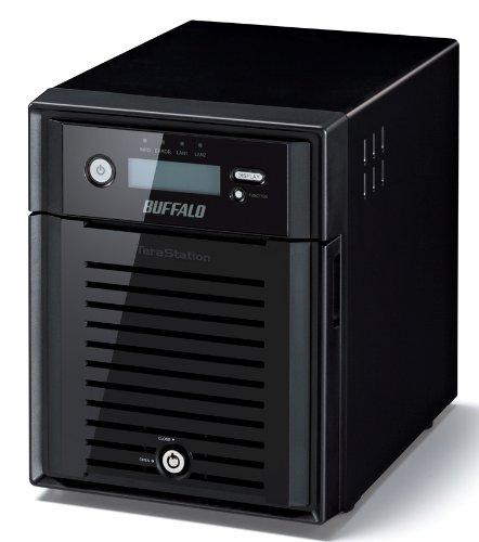 バッファロー/BUFFALO テラステーション 5400 管理者・RAID機能搭載 4ドライブNAS 8TB TS5400D0804 P12Sep14