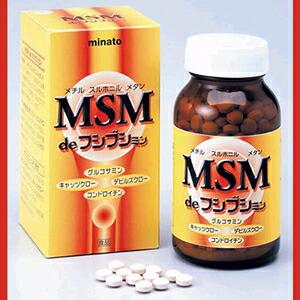 MSM de フシブシミン 250mg×300粒 ミナト製薬 MSMde フシブシミン 75g MSM メチルサルフォニルメタン P12Sep14