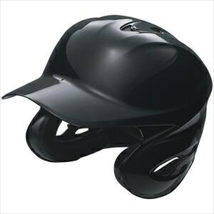 SSK 野球 ソフトボール用両耳付きヘルメット ブラック(90) Mサイズ H6000 P12Sep14