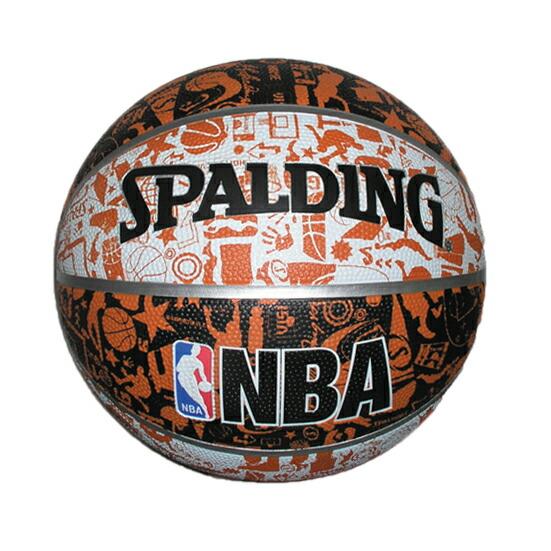 バスケットボール 7号 スポルディング SPALDING バスケットボール グラフィティ 73-722Z P12Sep14