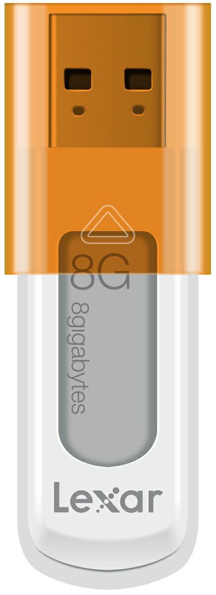JumpDrive S50 USBメモリ 8GB Orange レキサー・メディア LJDS50-8GBABJPO P12Sep14