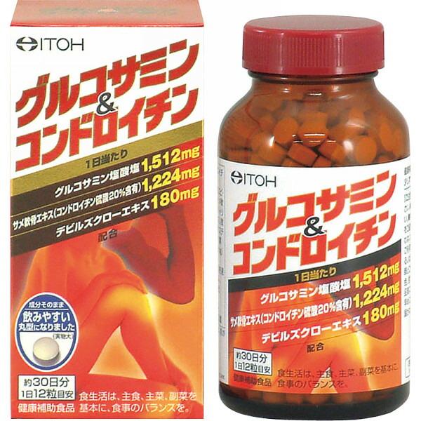 グルコサミン&コンドロイチン(360粒) 約30日分 1146982 P12Sep14